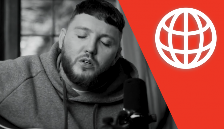 Wereldhits: James Arthur scoort in Noorwegen