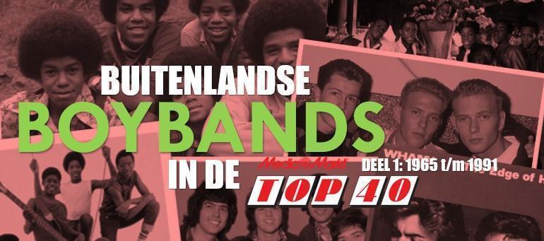 Buitenlandse boybands in de Top 40: 1965 t/m 1991