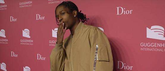 A$AP Rocky nieuwe gezicht van Dior