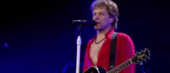 Jon Bon Jovi verrast zieke fan
