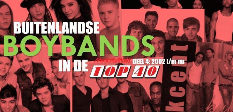 Buitenlandse boybands in de Top 40: 2002 t/m nu
