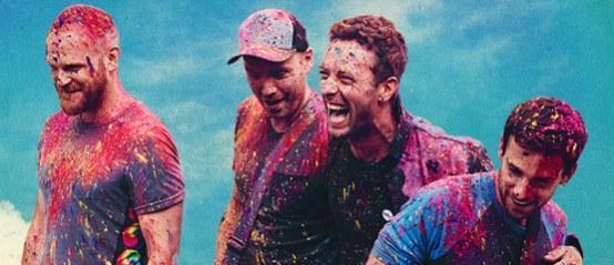 Coldplay legt concert stil