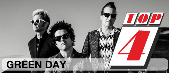 Top 4: Green Day