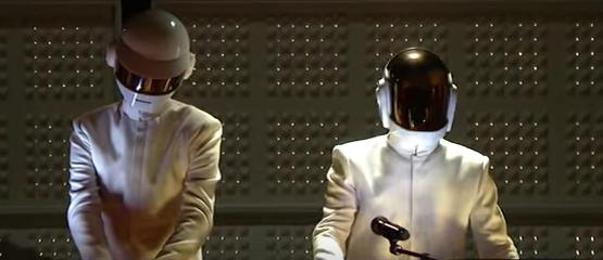 Daft Punk bij de Grammy's