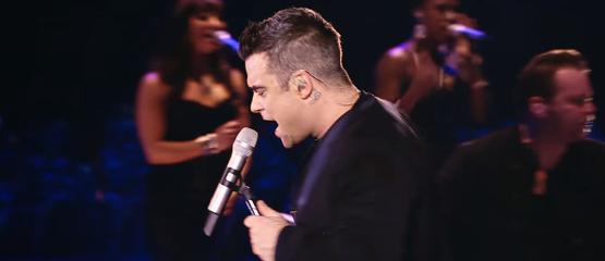 Robbie Williams en Gary Barlow werken samen