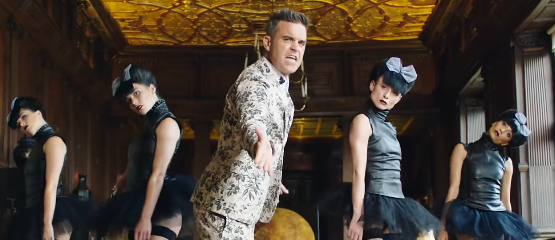 Robbie Williams rookte joint in paleis