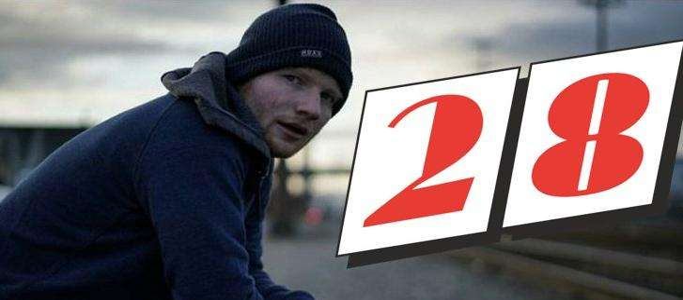 Galway Girl geeft Ed Sheeran vleugels