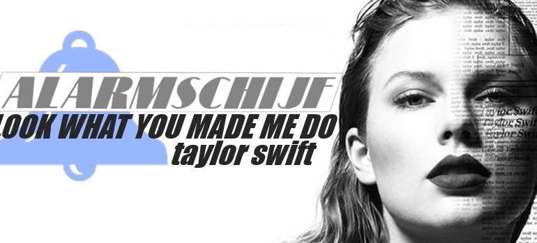 Taylor Swift scoort Alarmschijf