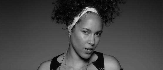Alicia Keys zat bijna in girlband