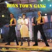 Coverafbeelding Boys Town Gang - Signed, Sealed, Delivered (I'm Yours)