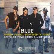 Coverafbeelding Blue featuring Stevie Wonder & Angie Stone - Signed, Sealed, Delivered I'm Yours