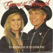 Details Grant & Forsyth - To Know You Is To Love You