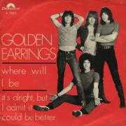 Details Golden Earrings - Where Will I Be