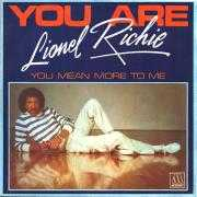 Coverafbeelding Lionel Richie - You Are