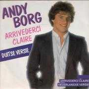 Coverafbeelding Andy Borg - Arrivederci Claire