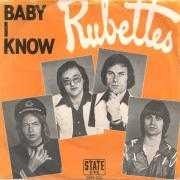Coverafbeelding Rubettes - Baby I Know