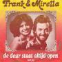 Coverafbeelding Frank & Mirella - De Deur Staat Altijd Open