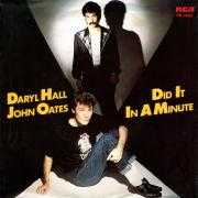 Coverafbeelding Daryl Hall & John Oates - Did It In A Minute