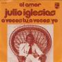 Coverafbeelding Julio Iglesias - El Amor (La Tendresse)