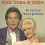 Coverafbeelding Will Tura & Jody - Het Staat In De Sterren Geschreven