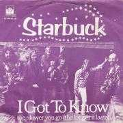Coverafbeelding Starbuck - I Got To Know