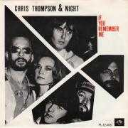 Coverafbeelding Chris Thompson & Night - If You Remember Me