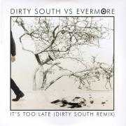 Coverafbeelding Dirty South vs Evermore - It's Too Late (Dirty South Remix)
