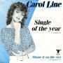 Coverafbeelding Carol Line - Single Of The Year