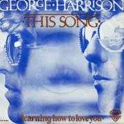 Coverafbeelding George Harrison - This Song