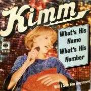 Coverafbeelding Kimm - What's His Name What's His Number