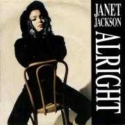 Coverafbeelding Janet Jackson - Alright
