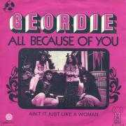 Details Geordie - All Because Of You