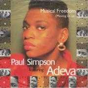 Details Paul Simpson featuring Adeva - Musical Freedom (Moving On Up)