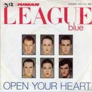 Coverafbeelding The Human League - Open Your Heart