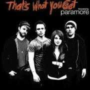 Coverafbeelding Paramore - that's what you get