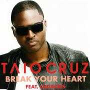 Coverafbeelding Taio Cruz feat. Ludacris - Break your heart