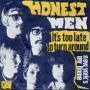 Coverafbeelding Honest Men - It's Too Late To Turn Around
