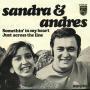 Coverafbeelding Sandra & Andres - Somethin' In My Heart/ Just Across The Line