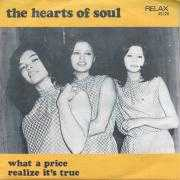 Coverafbeelding The Hearts Of Soul - What A Price