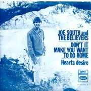 Details Joe South and The Believers - Hearts Desire