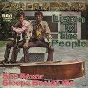 Coverafbeelding Zager & Evans - Listen To The People