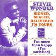 Coverafbeelding Stevie Wonder - Signed, Sealed, Delivered I'm Yours
