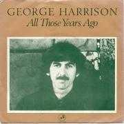 Coverafbeelding George Harrison - All Those Years Ago