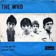 Details The Who - A Legal Matter