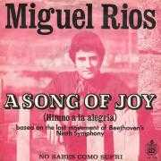 Coverafbeelding Miguel Rios - A Song Of Joy (Himno A La Alegria)