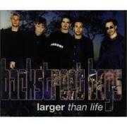 Coverafbeelding Backstreet Boys - Larger Than Life