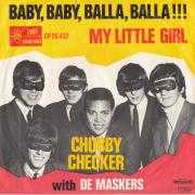 Details Chubby Checker with De Maskers / The Scorpions ((GBR)) - Baby, Baby, Balla, Balla!!! / Balla, Balla