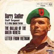 Details Barry Sadler - Staff Sergeant U. S. Army Special Forces - The Ballad Of The Green Berets