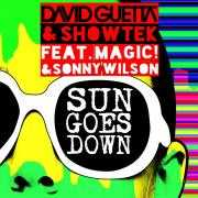 Coverafbeelding David Guetta & Showtek feat. Magic! & Sonny Wilson - Sun goes down