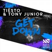Coverafbeelding Tiësto & Tony Junior - Get down